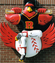 Rochester Red Wing sculpture by Larry Kinney